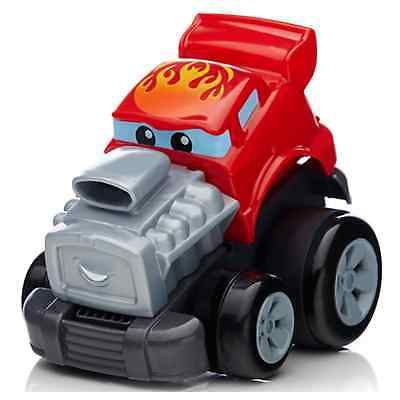 Fisher Price Mega Bloks First Builders Zippy Zach or Speedy Sam Toy Car 1-5Yrs