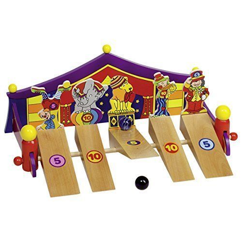 Goki Marble Game Circus 1-5 Players 3+ Years