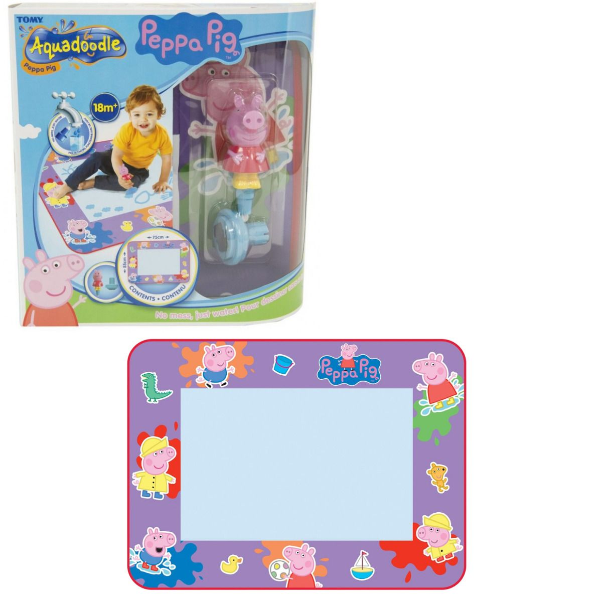 Tomy Peppa Pig Aquadoodle No Mess Just Water Ages 18 Months