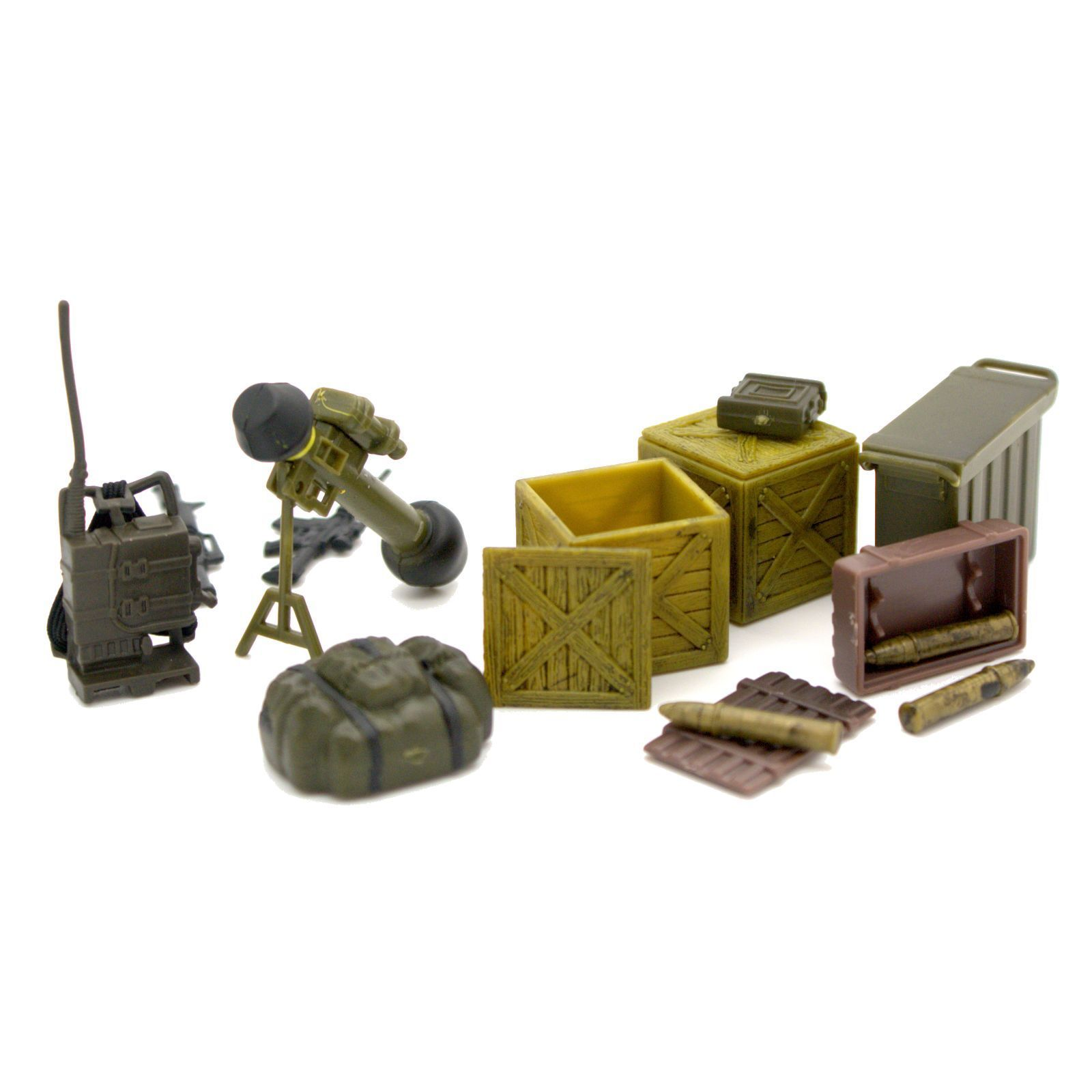 PEACEKEEPERS MILITARY DEFENSE UNIT ARMY PLAYSET NEW..10.99