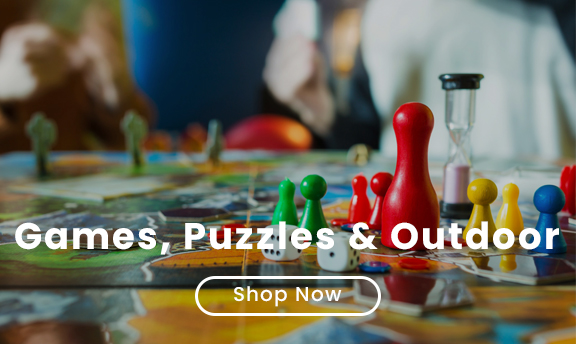Games, Puzzles & Outdoor